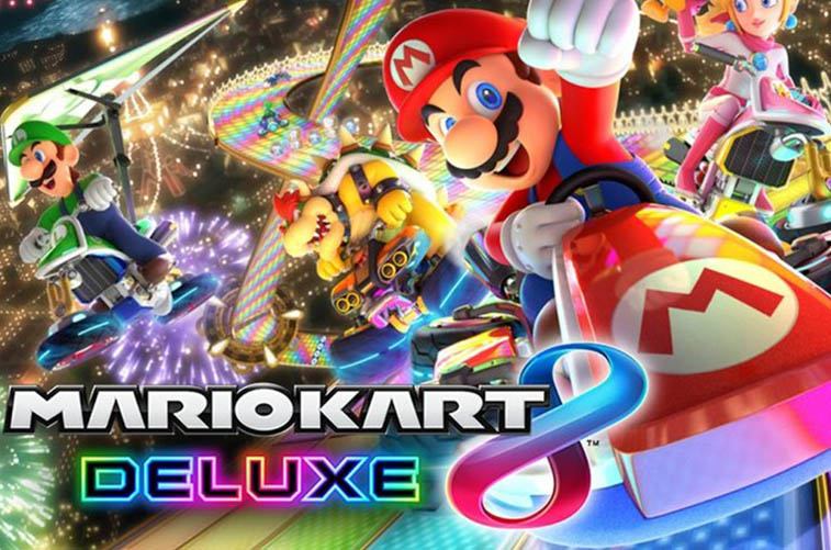 Mario Kart 8 Deluxe super car game
